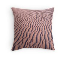 Ripple in the sand Throw Pillow