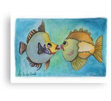 MR. & MRS. SMITH Canvas Print