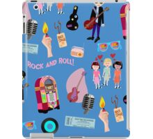 Rockin Retro Pattern iPad Case/Skin