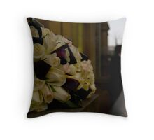 Wedding Buds Throw Pillow