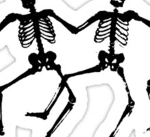 Dancing Skeletons Sticker