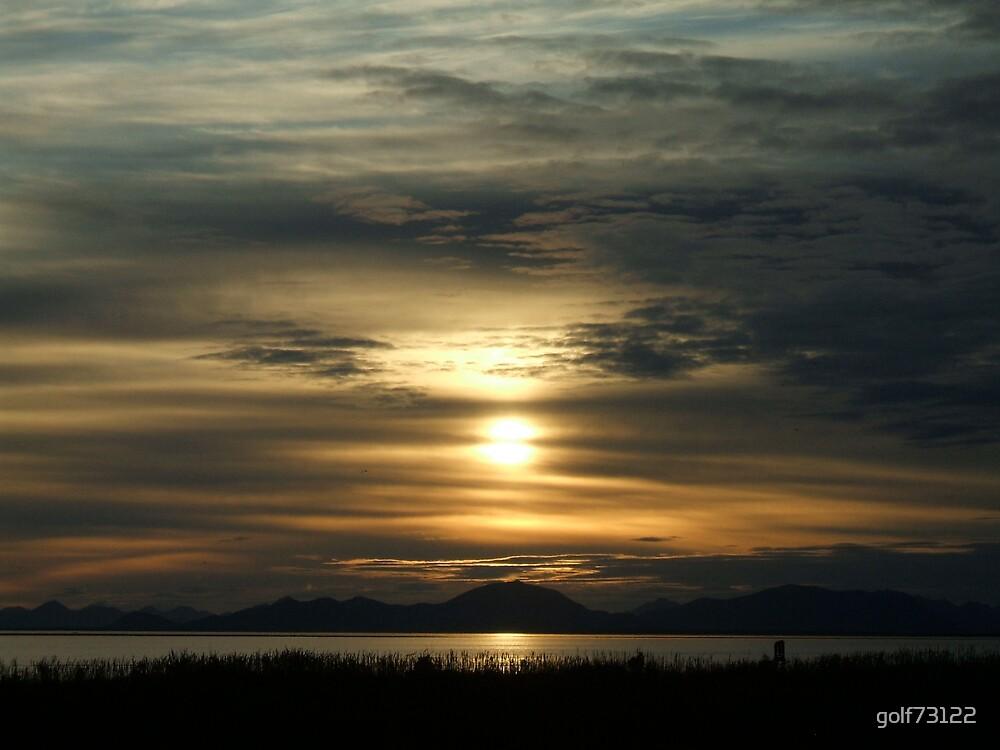 Ekuk, AK Sunset by golf73122