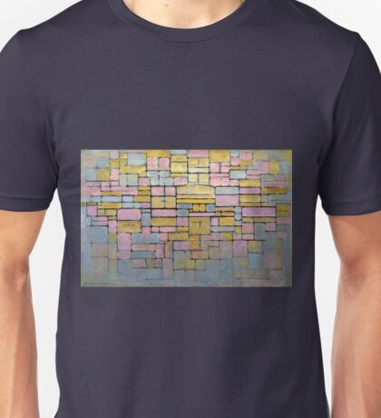 Piet Mondrian Composition No V Unisex T-Shirt
