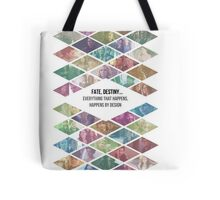 """Once Upon a Time - """"Everything Happens By Design"""" Ensemble cast Tote Bag"""