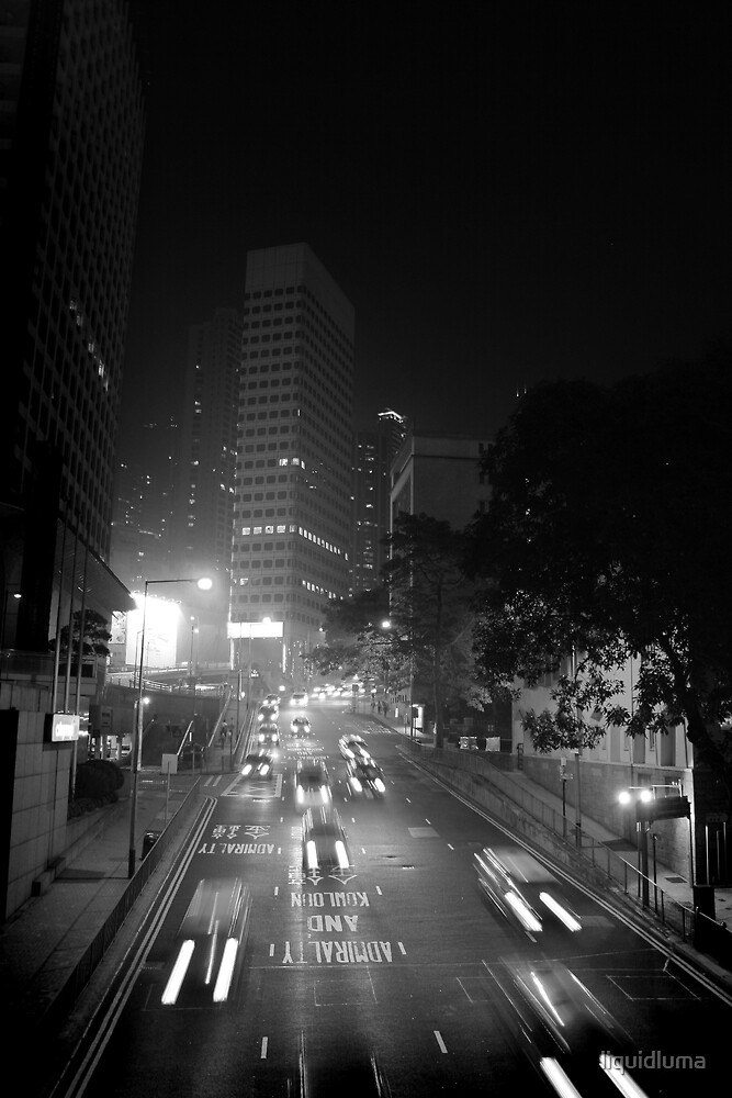 On the way to Kowloon by liquidluma