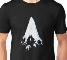 Glitch Groddle Land dirt mountain snow cap 1 Unisex T-Shirt