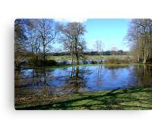 Bartley Water (1) Canvas Print