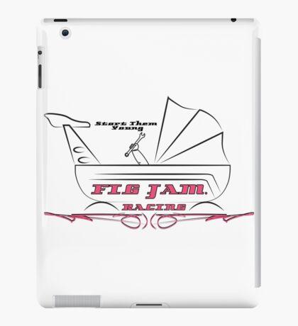 fig jam racing pusher iPad Case/Skin