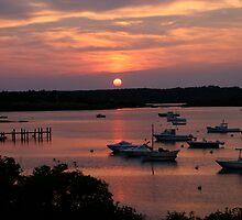 Marthas Vineyard Sunset by branning1021