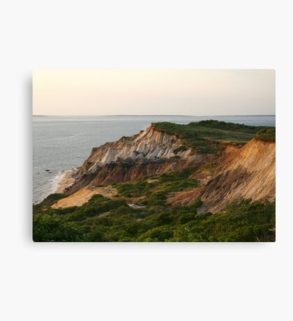 Gay Head Marthas Vineyard Canvas Print