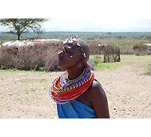 samburu,chief's wfe Photographic Print