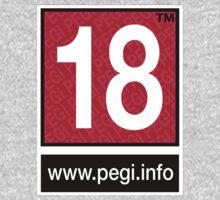 Pegi 18 - under over eighteen Baby Tee
