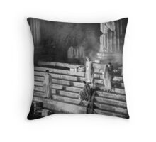 At the forum Throw Pillow