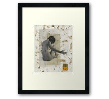Closed Open Nude Framed Print