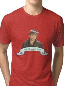 Will Graham's therapist really.......... bites Tri-blend T-Shirt