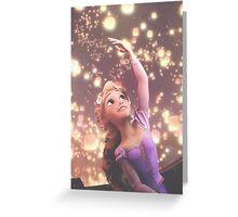 Tangled- Rapunzel Greeting Card