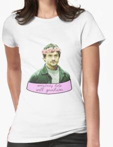 Somebody Help Will Graham Womens Fitted T-Shirt