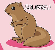 Squirrel Is Squirrel by mstiv