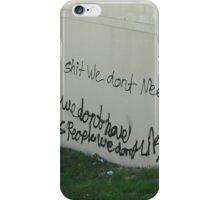 Buy Shit iPhone Case/Skin