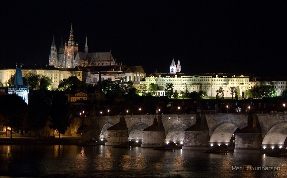 Prague by Per E. Gunnarsen