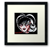 Brittany Blood Framed Print