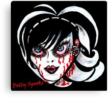 Brittany Blood Canvas Print