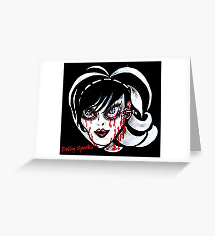 Brittany Blood Greeting Card