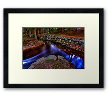 all things meet Framed Print