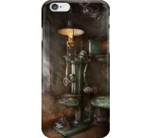 Machinist - Where inventions are born iPhone Case/Skin