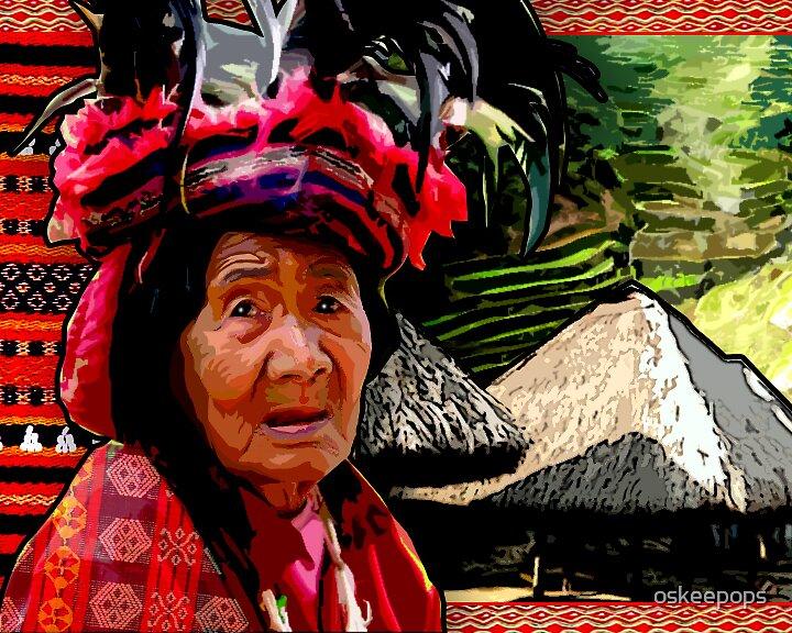 batad old lady by oskeepops