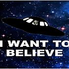 I Want to Believe 2014 V1 ( Duvets ) by PopCultFanatics