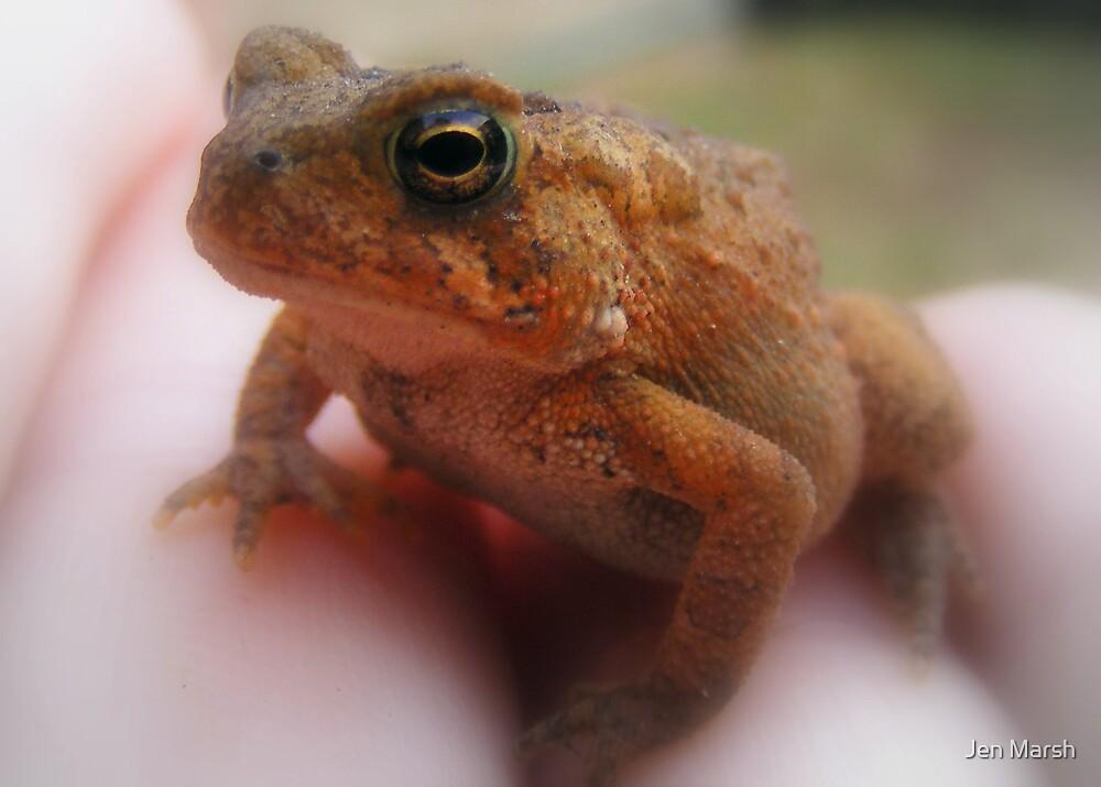 Kermit Theeeee Frog Here.... by Jen Marsh