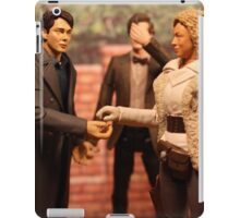 When Captain Jack Met River Song iPad Case/Skin