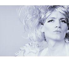 Powder Blue Photographic Print