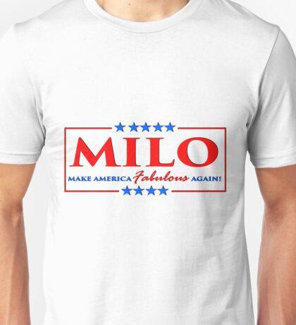 Milo Yiannopoulos - Make America FABULOUS Again! Unisex T-Shirt
