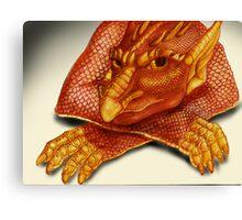 Cheeky Dragon Canvas Print