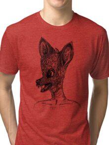 Bambi Vampire Tri-blend T-Shirt