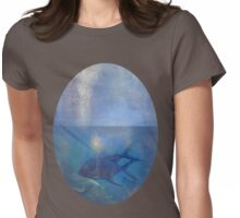 The Deep Blue Sea Womens Fitted T-Shirt