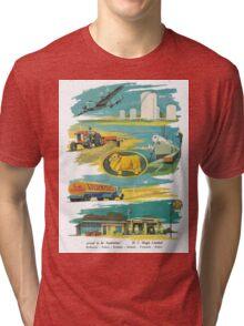 Retro Golden Fleece Tri-blend T-Shirt