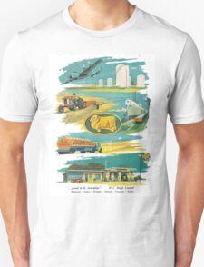 Retro Golden Fleece T-Shirt