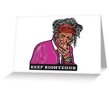 Keef Greeting Card