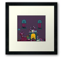 Silly Sleep Framed Print