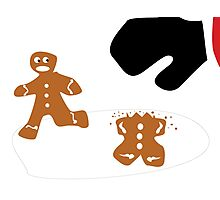 Every Gingerbread Man For Himself! Photographic Print