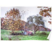 Country Autumn Poster