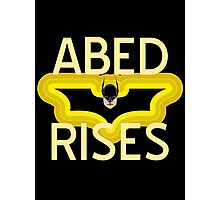 Abed Rises Photographic Print