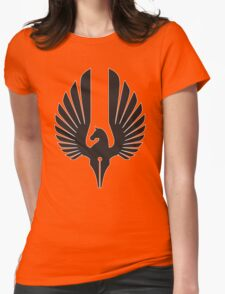 Darkhorse Solo Logo Black Womens Fitted T-Shirt