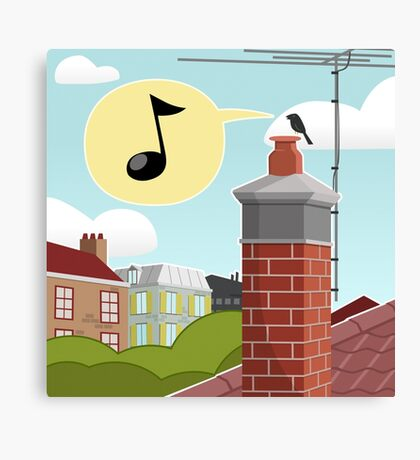 Chimney Singer Canvas Print