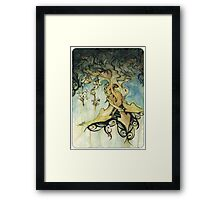 organic progression Framed Print