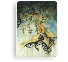 organic progression Canvas Print