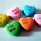 Candy Hearts by Pamela Burger